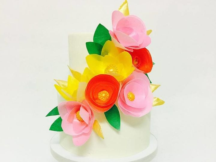 Tmx 1528738372 790b08a9d8f6c946 1528738370 B555e8ede444e160 1528738369385 20 19989471 13510345 Burbank wedding cake