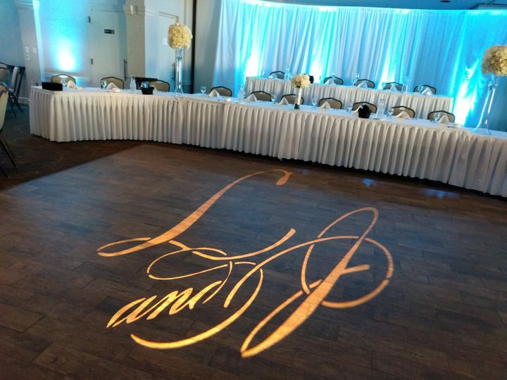 Sunnyside Country Club with monogram!