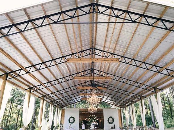 Pavilion reception set-up