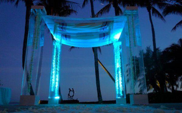 Acrylic Plexiglass structure by Arc Divine Miami at the Grove, Coral Gables FL.  Arc Divine,...