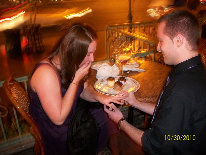Tmx 1380038574738 Vegas Proposal At Paris McHenry wedding jewelry
