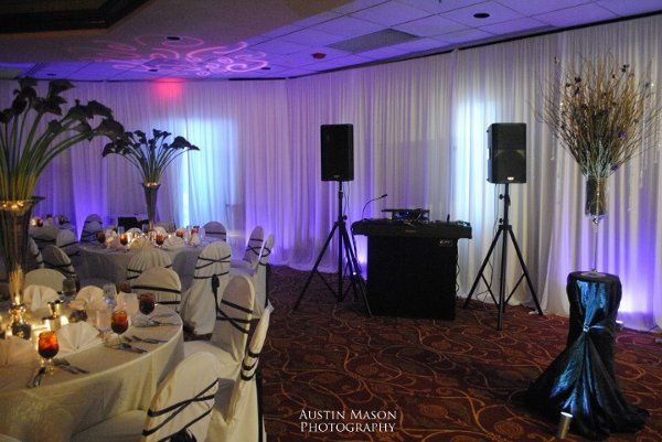 Pic of my setup at the Embassy Suites