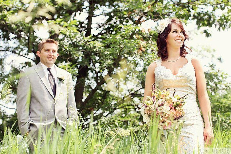 Groom and bride | Photo by C Studios
