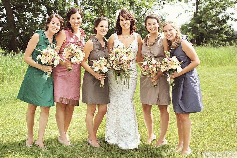 Bridal party | Photo by C Studios