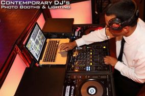 Contemporary DJ's Photo Booths & Lighting