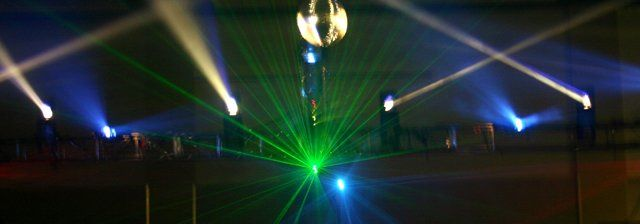 Laser Lighting!