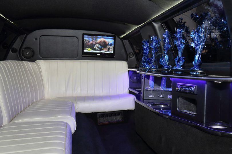 White leather interior