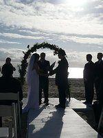 a beautiful beach wedding in Malibu