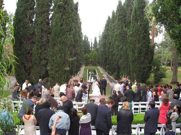 a Fairtale wedding at an estate in Sierra Madre