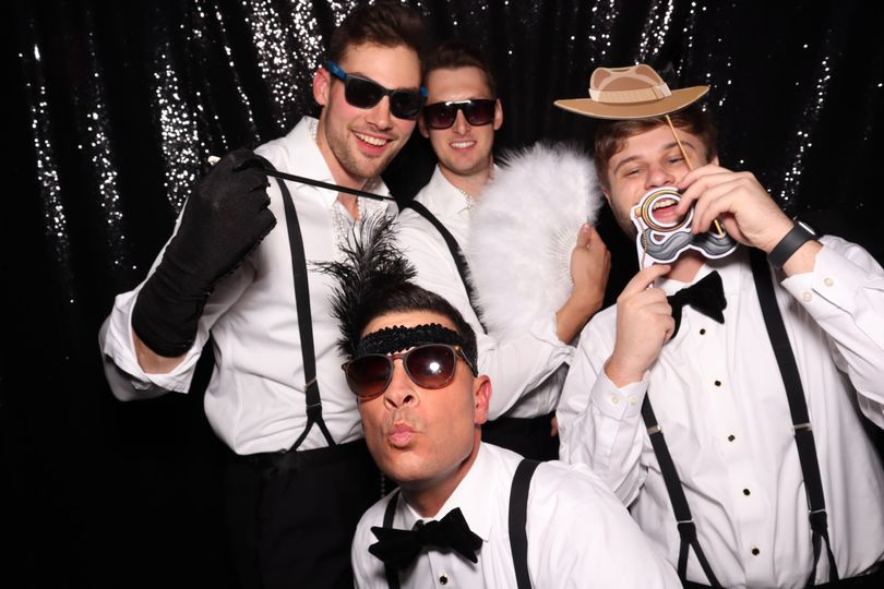 Gatsby props photo booth