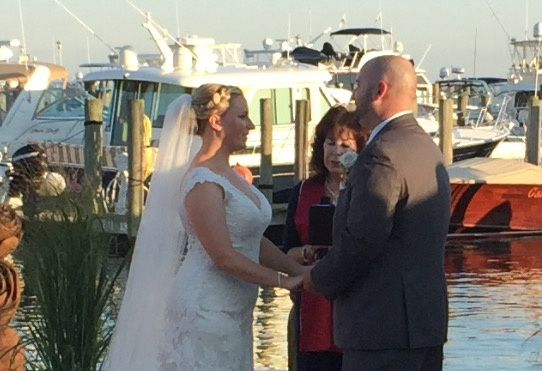 Marriage at the dock