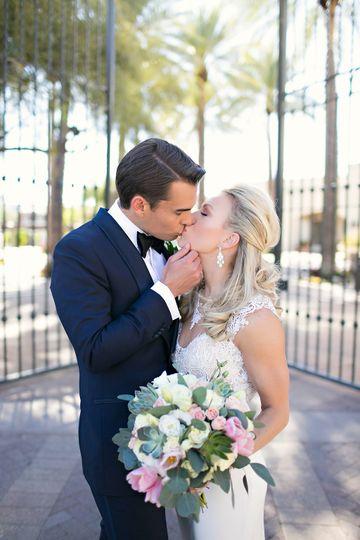 yefgroom kissing bride