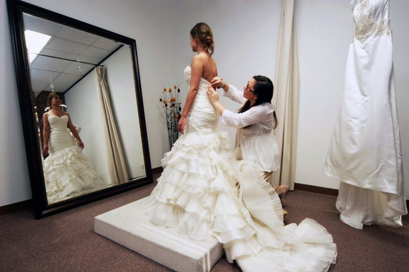 Couture Wedding Dresses Houston Tx : Laura s couture alterations wedding dress attire texas houston