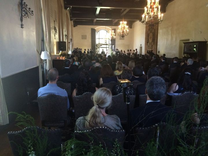 Upstairs at the Sutter Club