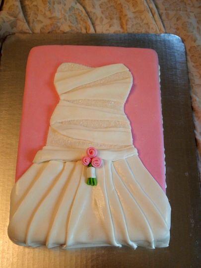 Bridal Shower Dress Replica