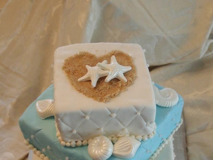 Tmx 1436989126947 Beach Wedding Shower White Marsh, MD wedding cake
