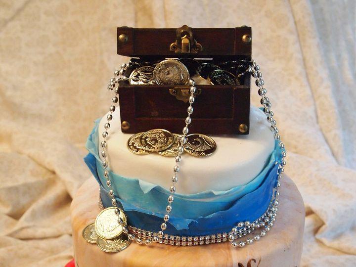 Tmx 1436989283870 Pirate Wedding Cake White Marsh, MD wedding cake