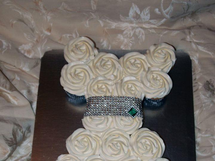 Tmx 1436989389472 Wedding Dress Cupcakes White Marsh, MD wedding cake