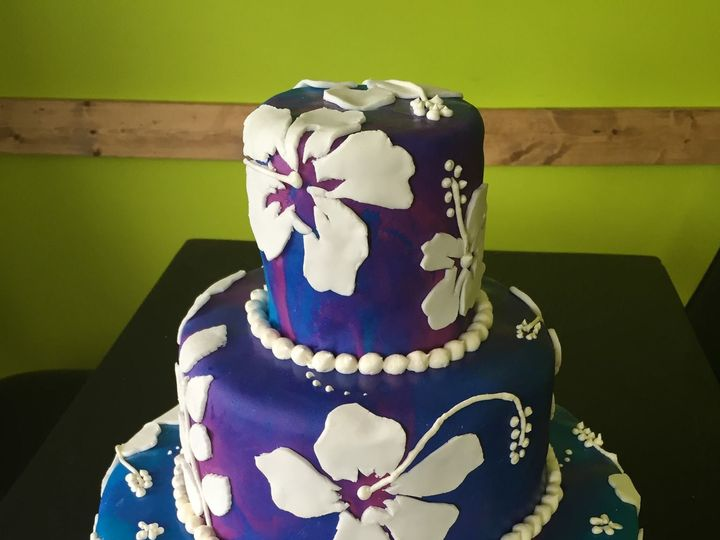 Tmx 1436996231773 Hibiscus White Marsh, MD wedding cake