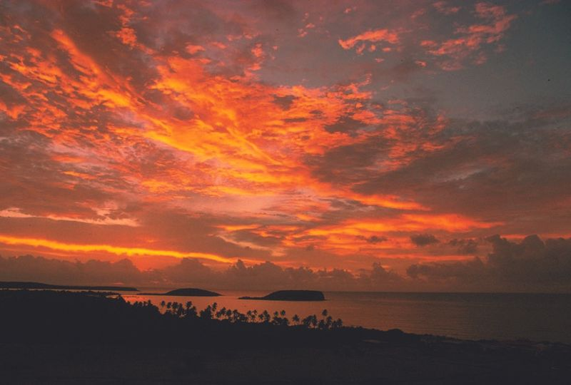 Sunrise from your Caribbean view room.