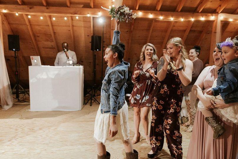 Wedding Day Excitement