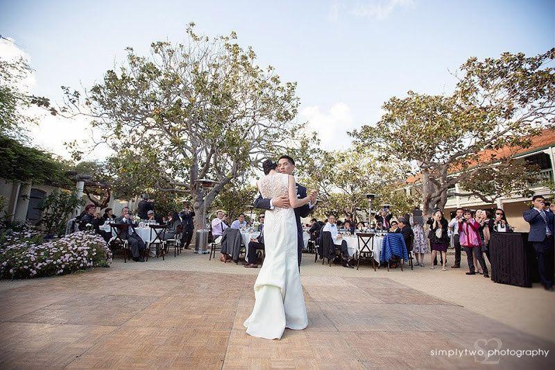 First dance at Memory Garden