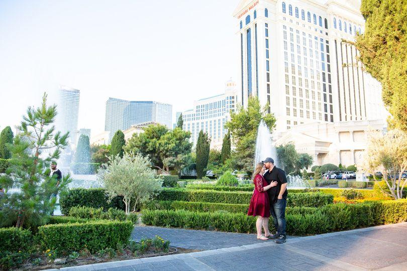 Vegas Strip Engagements