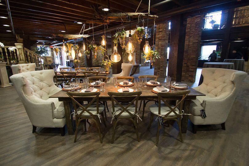 Fancy dinning area
