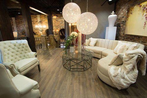 Fancy lounge area