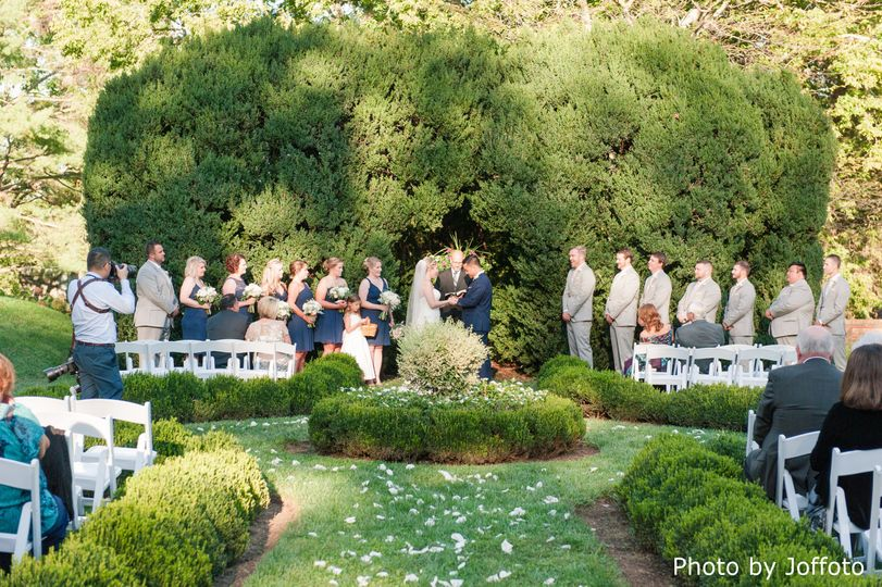 Boxwood Terrace Ceremony