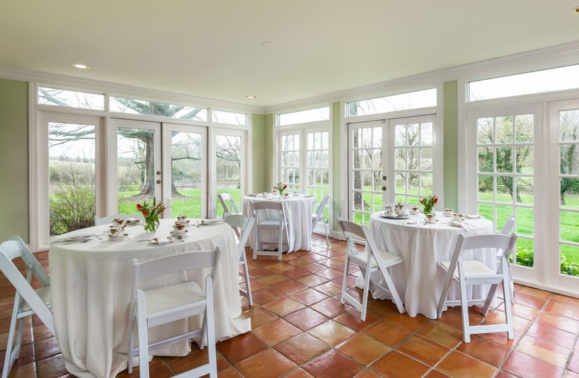 The Inn at Oatlands Hamlet Sunroom