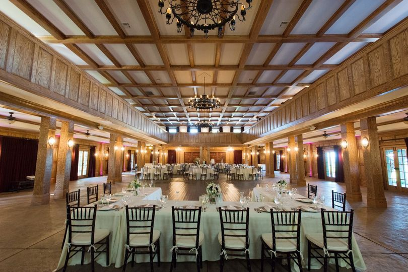 Spacious banquet hall