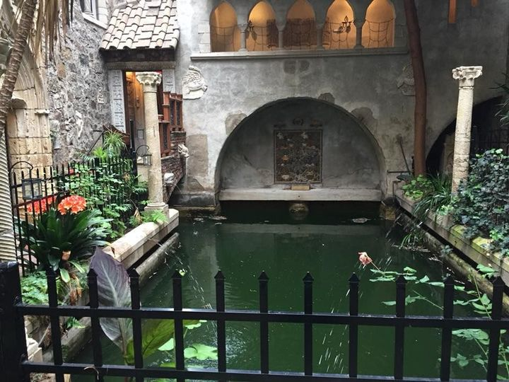 Garden Pond at Hammond Castle