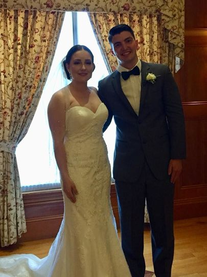 Anna and Zachary at Tewksbury Country Club