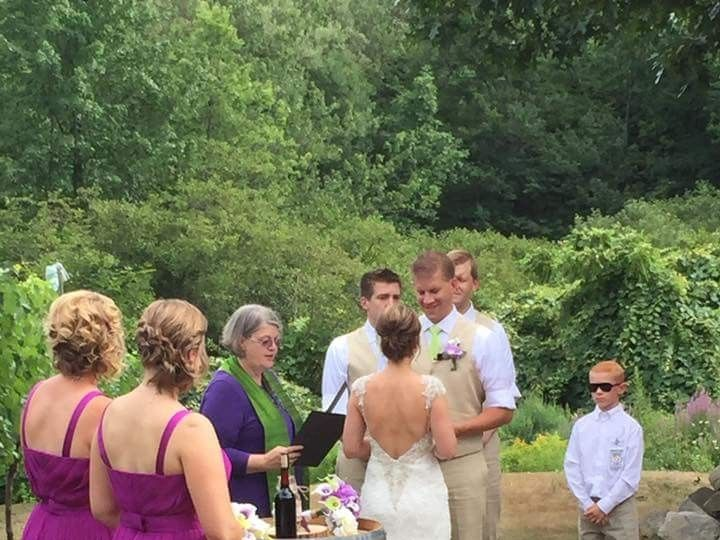 Tmx 1490204730789 Weddingatwillowspringsvineyardadamnikos Salem wedding officiant