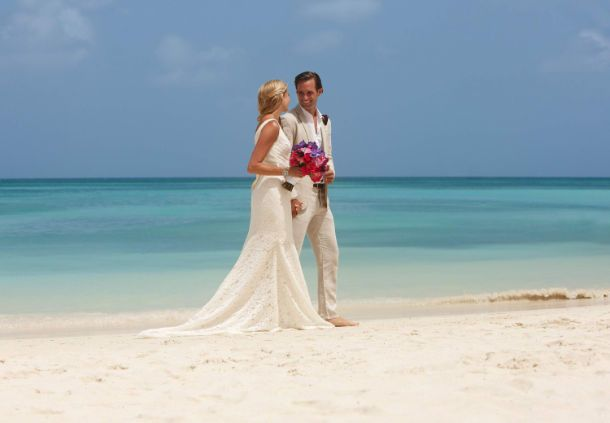From the simplicity of a Caribbean beach ceremony to an extravagant ballroom gala