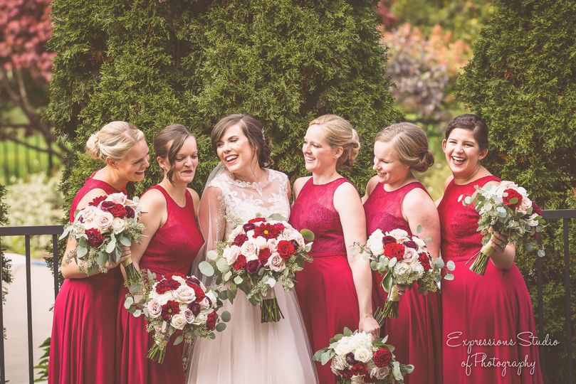 Red dresses | Photo by Expression Studio