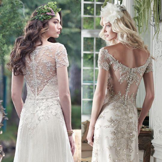 maggiesotterospring2016 embellished lace wedding d