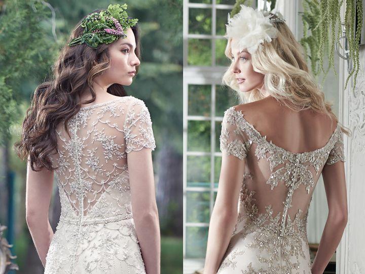 Tmx 1473783537745 Maggiesotterospring2016 Embellished Lace Wedding D Lexington wedding dress