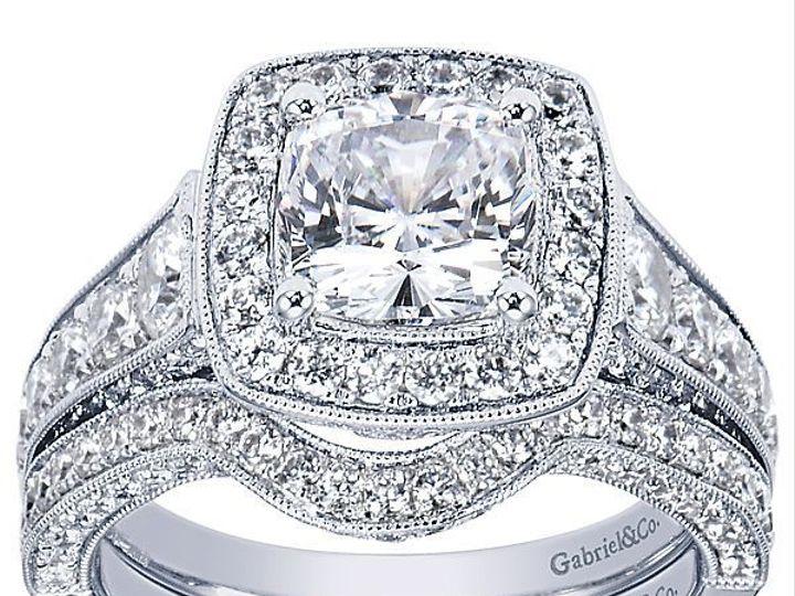 Tmx 1534868461 7cbb44d31edc0742 1534868460 359ee92ab6a4bc38 1534868447829 3 Gabriel Constance  Hickory wedding jewelry