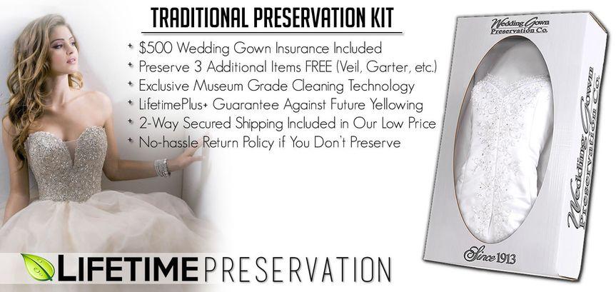lifetime preservation ww traditional line kit bann