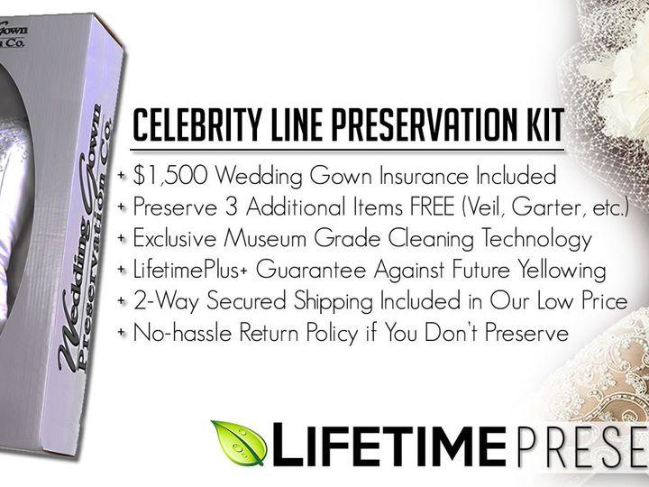 Tmx 1458510895280 Lifetime Preservation Ww Celebrity Line Kit Banner Everett, WA wedding dress