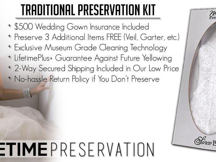 Tmx 1458783078931 Lifetime Preservation Ww Traditional Line Kit Bann Everett, WA wedding dress