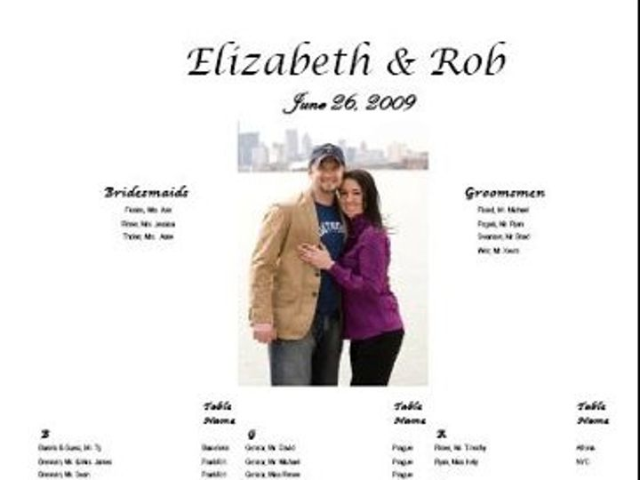 Tmx 1292263307712 ElizabethRob Sterling Heights wedding invitation