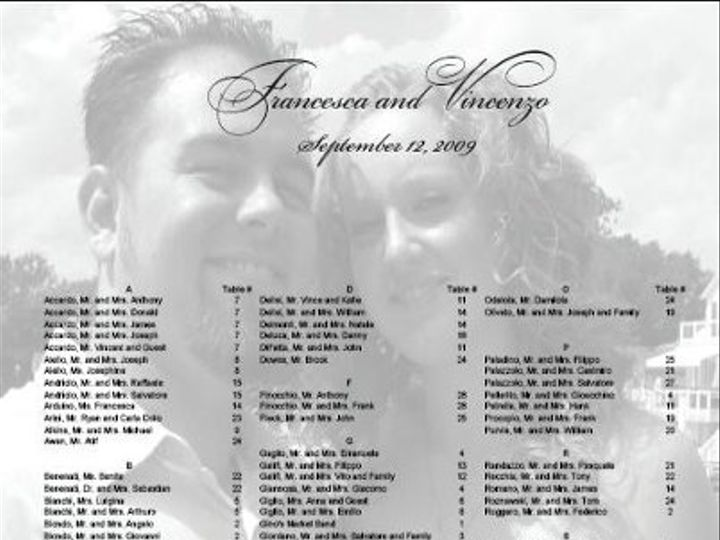 Tmx 1292263340321 FrancescaVincenzo Sterling Heights wedding invitation
