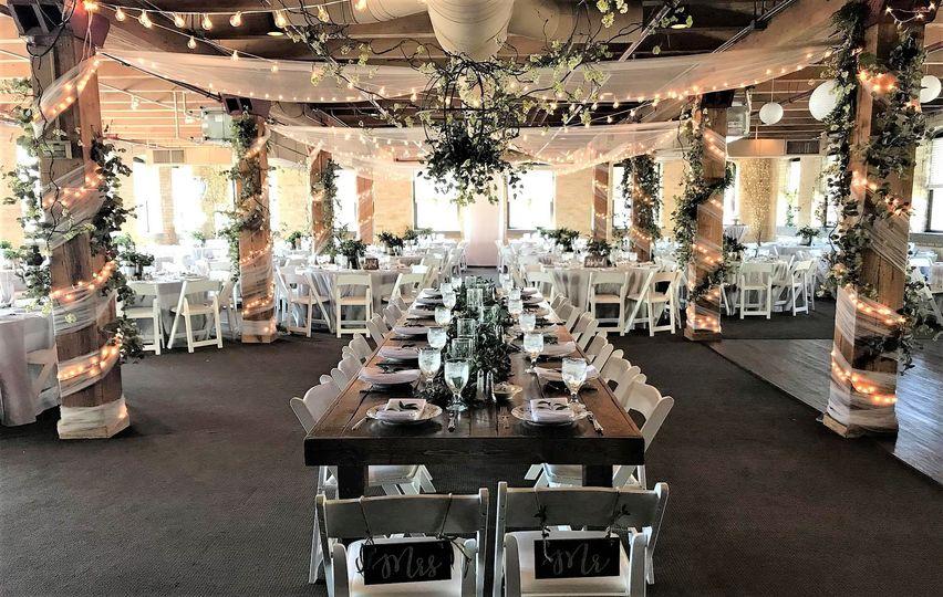 Greeney reception decor