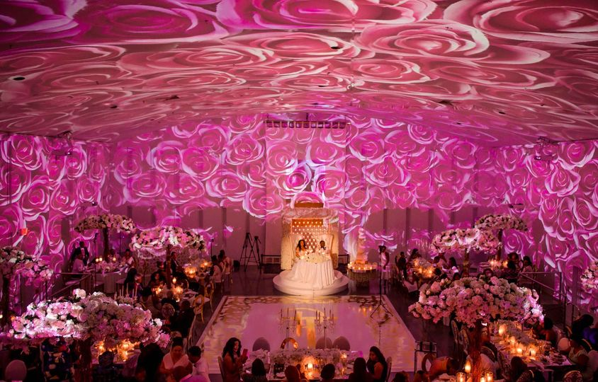 Rose Wedding Reception