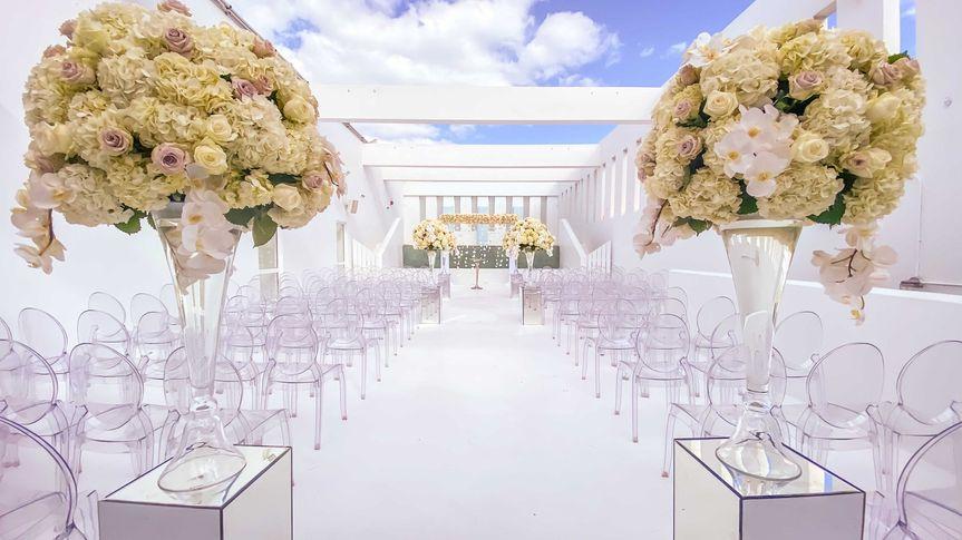 Dreamy White Ceremony
