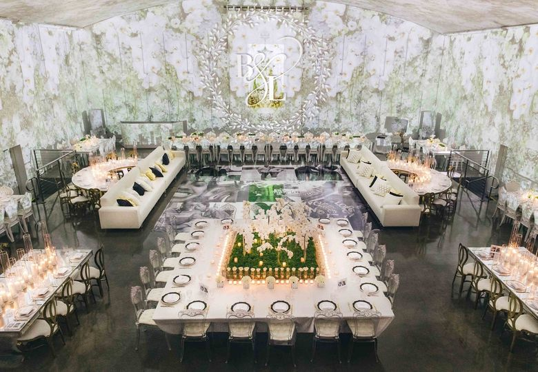 Floral Wedding Reception