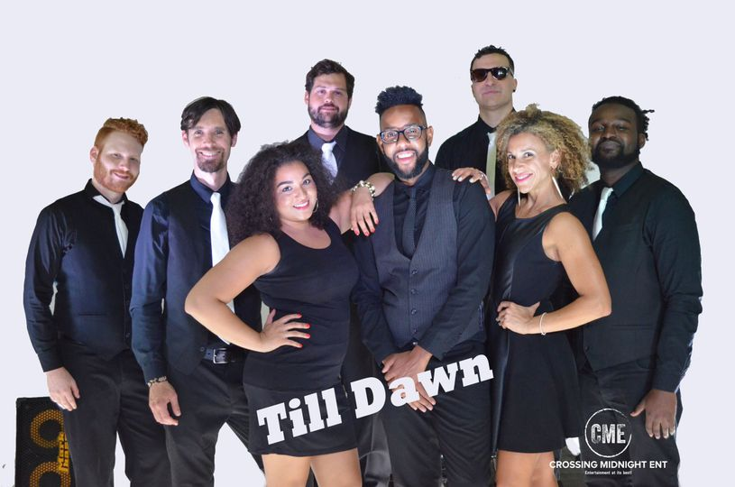 Till dawn - young, great energetic band that is capable of playing all genres! Bi-lingual
